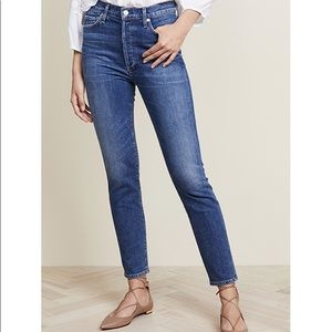 COH Olivia High Rise ankle jeans in Solo